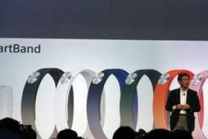 索尼发布智能手环SmartBand