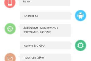 小米手机4配置参数曝光