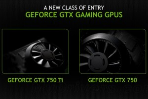 nVIDIA发布全新 GTX 750/750 Ti系列显卡