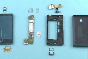 提前脱光:Nokia X完全拆解
