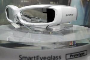 索尼展示智能眼镜SmartEyeglass