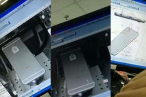 iPhone 6最新谍照曝光:摄像头突起