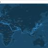 互联网的命脉:海底电缆地图展示