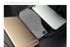 曲面屏幕:iPhone 6最新机模曝光图