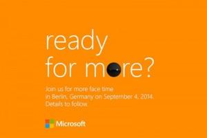 又见新机潮:微软9月4日举行新Lumia发布会