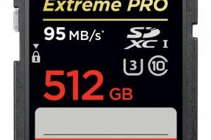 碉堡了!闪迪发布512G SDCX存储卡