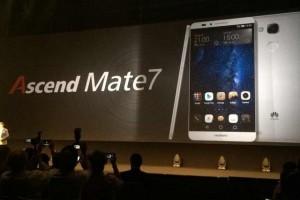 6寸旗舰 华为Mate7 正式发布