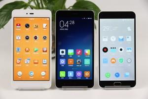 千元机争霸 坚果手机/红米Note2/魅蓝Note2 横向对比评测