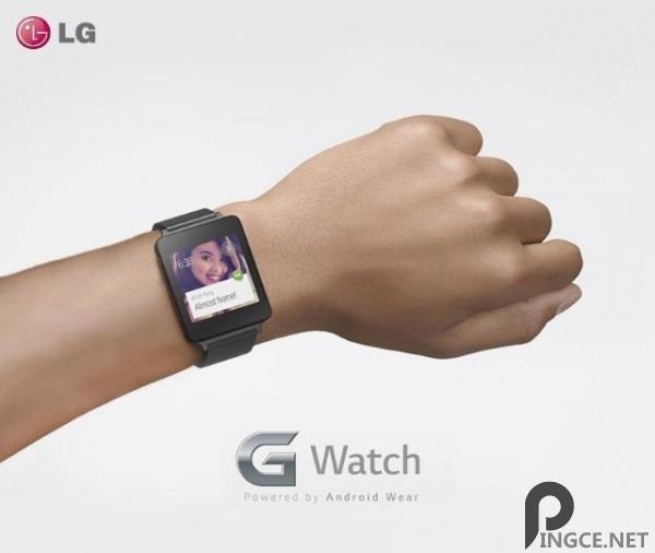 LG G Watch 智能手表照片公布,下半年上市