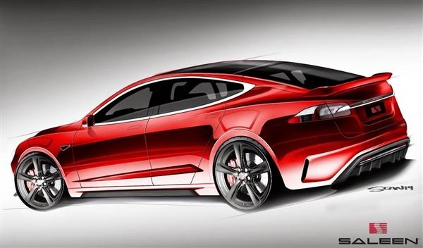 帅爆了!特斯拉Model S改装