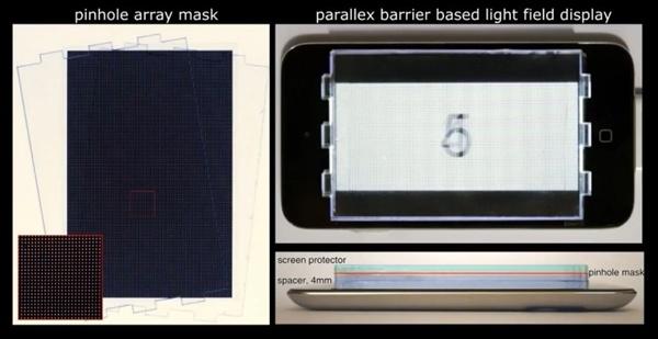 能矫正视力的显示屏:不戴眼镜也能看清