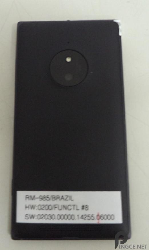 Lumia 830最新谍照曝光