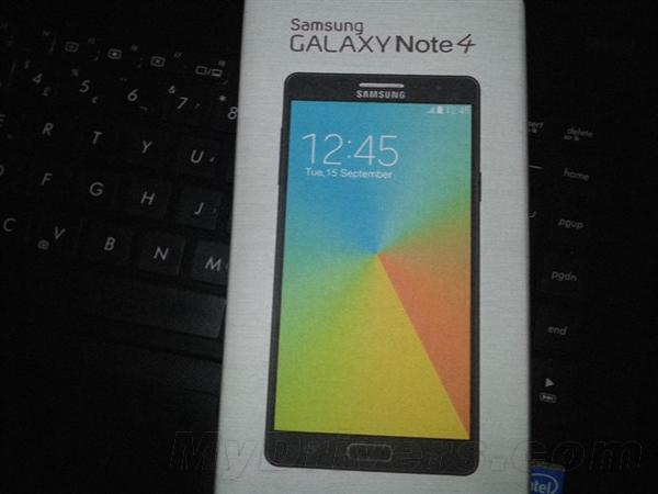 三星Galaxy Note 4外观曝光