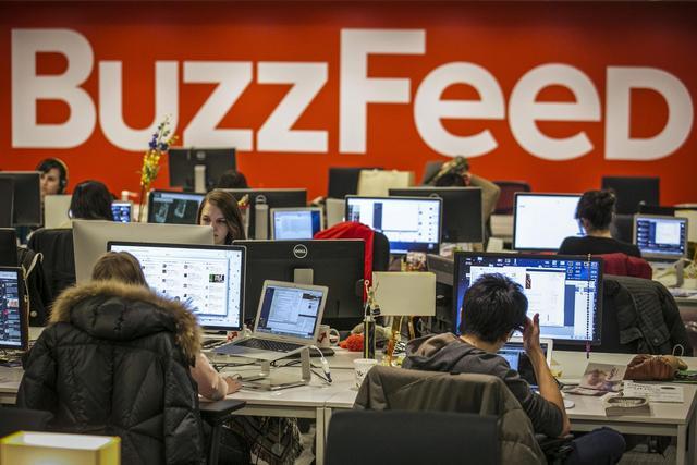 网站和App都不要!Buzzfeed新闻构想