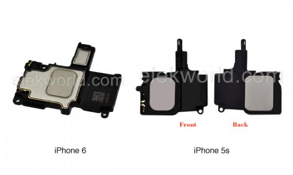 iPhone 6 扬声器组件曝光